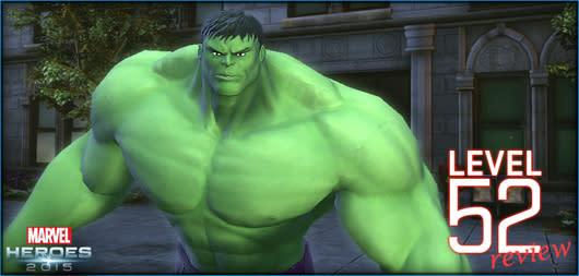 Marvel Heroes gets Omega event, level 52 Hulk review