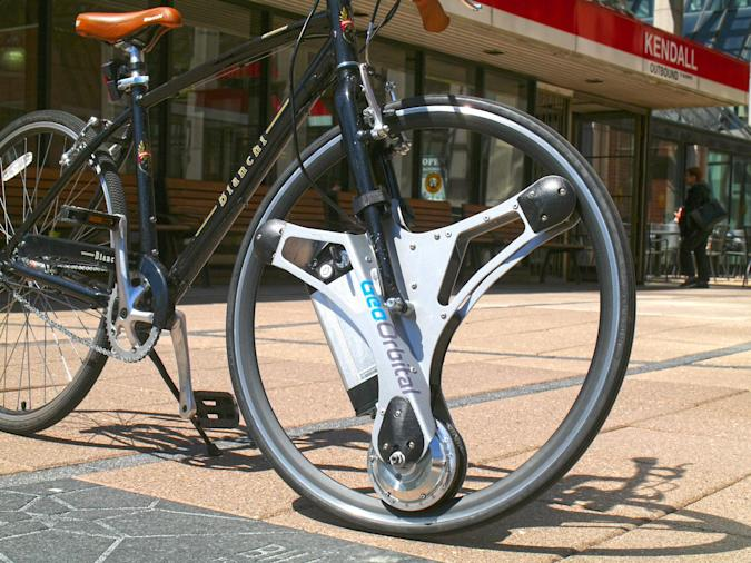 Make your bike electric with this swap-in tire