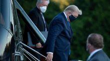 """Covid-19 : Donald Trump hospitalisé  """"va très bien"""", la liste des républicains contaminés s'allonge"""