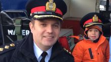 Gallery: Winnipeg police welcome new chief for Santa Claus Parade