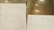 """12-jähriger schreibt Abschiedsbriefe an die Familie, während er in der Schule eingeschlossen ist: """"Ich dachte, ich würde sterben"""""""