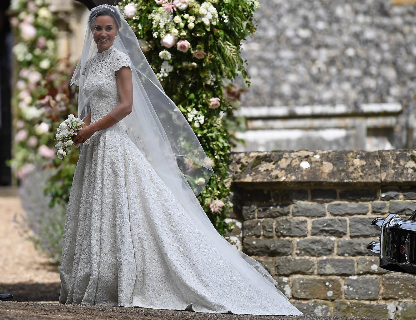 Pippa Middleton\'s wedding dress makes bridal fashion history