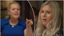 Pregnant bride storms out after inappropriate question
