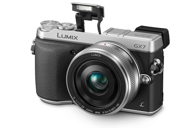 Panasonic unveils 16MP Lumix GX7 Micro Four Thirds camera, 42.5mm f/1.2 lens