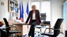 Le Pen seeks Macron's downfall in French European polls