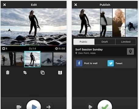 MixBit for iPhone: Shooting, editing and sharing bits of video