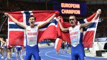Ingebrigtsen, 17, beats big brother for 1-2 finish at Euros