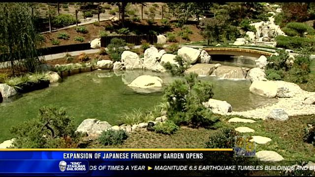 Newly expanded Japanese Friendship Garden opens in Balboa Park