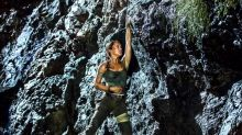 Hang about! It's a new pic of Alicia Vikander as Tomb Raider's Lara Croft