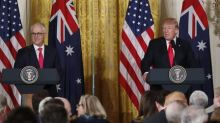 Trump says U.S.-Australia relations are strong