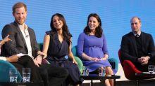 Meghan Markles erster gemeinsamer Auftritt mit Harry, William und Kate