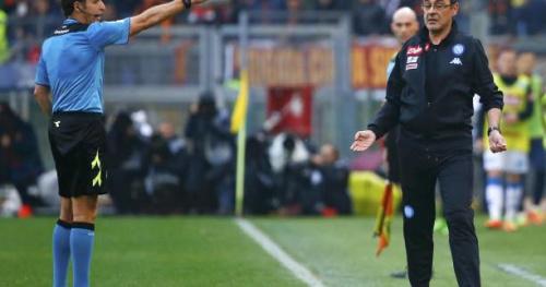 Foot - ITA - Naples - Maurizio Sarri élu meilleur entraîneur de Serie A