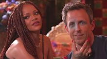 Seth Meyers Thinks He's Found 'Perfect' Rihanna's One And Only Weakness