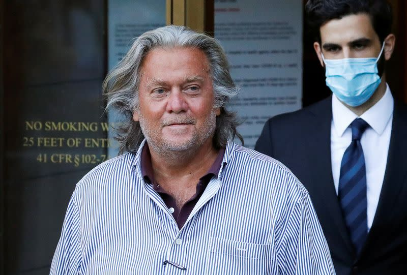 Trial date for Bannon, co-defendants set for May 2021