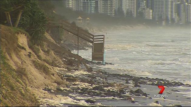 Beach recovery 'could take weeks'