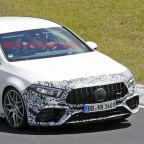2020 Mercedes-AMG A 45 spied without giant rear wing