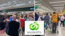 Wild scenes at Woolworths as NSW region braces for lockdown