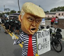 The Latest: Trump kicks off 2020 bid by airing grievances