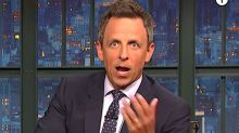 Seth Meyers: Trump's New Twitter Goof Is '7-Layer Dip Of Presidential Insanity'