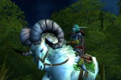Alternate faction mounts at 40
