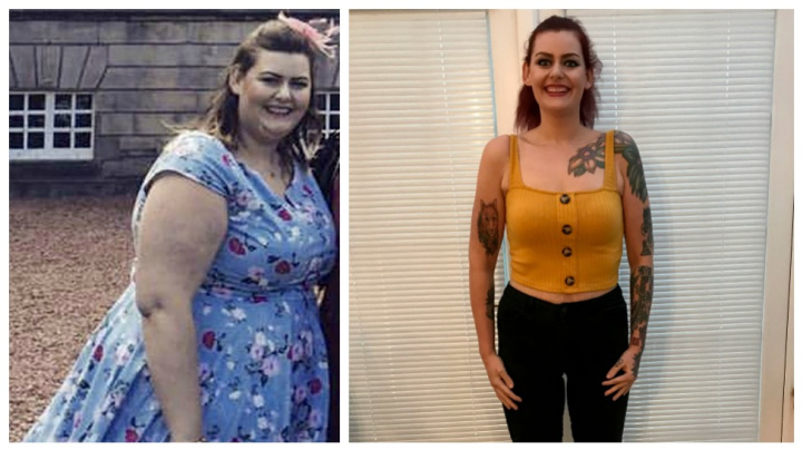 Woman loses 90kg after ditching take-away food
