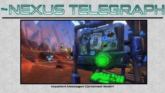 The Nexus Telegraph: Getting the message across in WildStar (before it kills you)