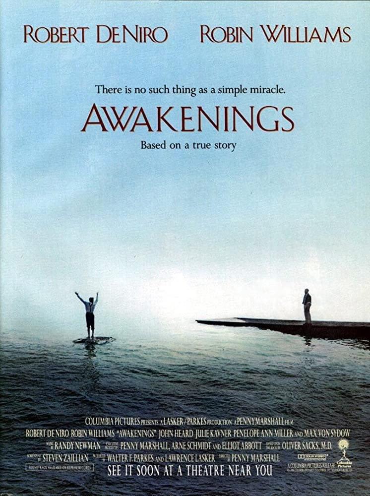 4.《睡人》Awakenings,1990