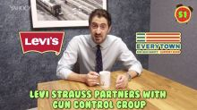 Business + Coffee: Levi's and gun safety, Theranos dissolving, Toyota recall