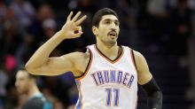 Enes Kanter detained, then released from a Romanian airport after his Turkish passport was 'canceled'