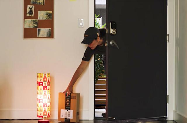 Amazon Key can require your fingerprint to allow in-home deliveries