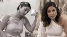 Hina khan Shares her New Anxiety Check it out