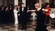 Famoso vestido que princesa Diana usou em dança com John Travolta não faz sucesso em leilão
