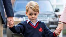 原來喬治小王子跟我們一樣!一個月不夠,威廉王子指他已經開始不願上課!