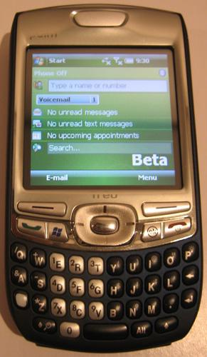 AT&T Treo 750 gets Windows Mobile 6 treatment on the sly