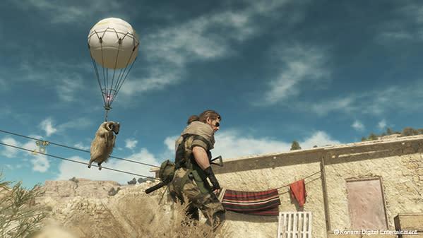 Watch Metal Gear Solid 5: The Phantom Pain's E3 demo