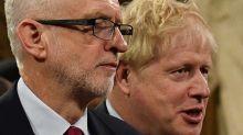 British pound falls but stocks gain as Boris Johnson's lead narrows in polls
