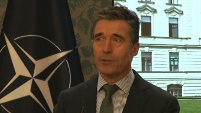 NATO Chief Fires Back at Russian Criticism