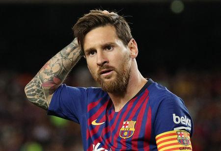 ec2d97f65 Palestinian FA head banned after call to burn Messi shirts