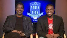 Denzel Washington on mentoring Boys & Girls Club kids — and Oscars advice for his son