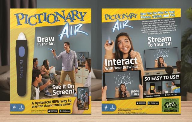 The new Pictionary has you drawing in thin air