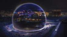 High-tech, sphere-shaped arena coming to Las Vegas Strip