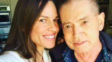 A 'Beyond Grateful' Hilary Swank Opens Up About Her Father's Lung Transplant — One Year Later