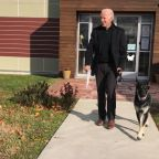 Joe Biden adopted a German shepherd and he's precious :')