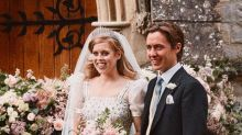 Princess Beatrice's sweet nod to Kate Middleton and Prince William on her royal wedding day