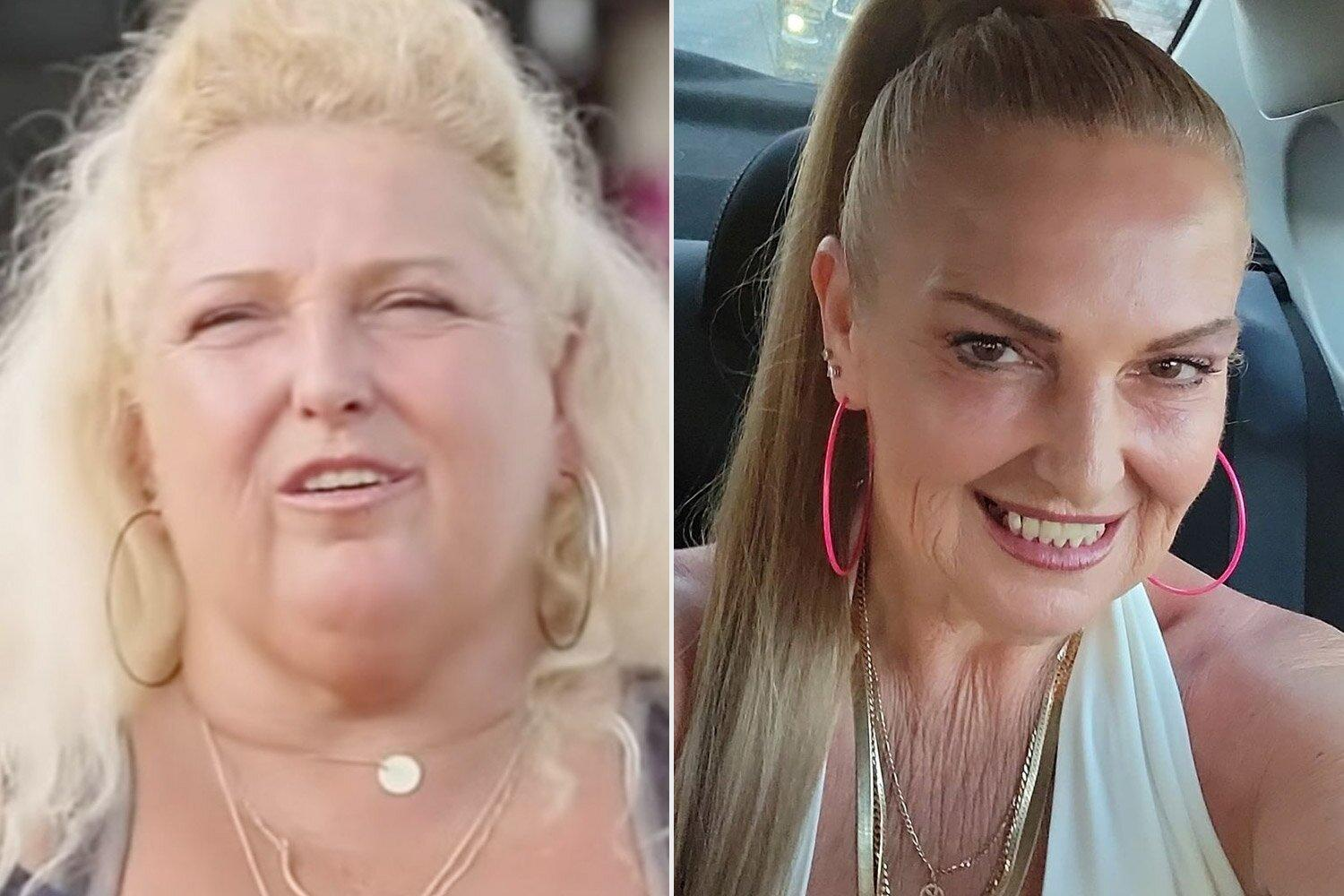 90 Day Fiancé 's Angela Deem Shows Off Her New Look After Surgery and 90-Lb. Weight Loss