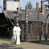 Pope Francis Prays Silently During Visit to Auschwitz