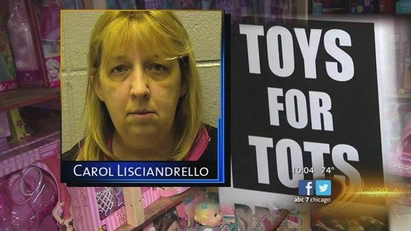 Volunteer Carol Liscianandrello allegedly stole 25k from Toys for Tots