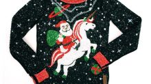 This is what a £24,000 ugly Christmas jumper looks like
