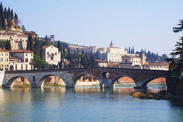 維洛那是羅密歐與茱麗葉的場景 (圖/Tourism Verona)