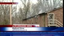 Fire damages Jeffersonville apartment building